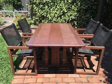 Outdoor Timber Table and Chairs