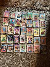 Garbage Pail Kids Cards 1986 Lot Of 35