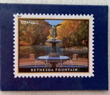 Usps #5348 Bethesda Fountain $25.50 Express Mail Postage Stamp Promo Magnet 2019