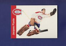 "Jacques Plante 1994-95 Parkhurst Hockey ""56-57"" Reprint #72"