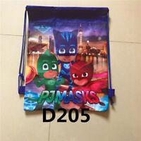 UK New Moana Trolls Drawstring Backpack Girls Rucksack Swim Shoes Party Bag Gift