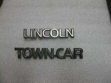 1983 1984 1985 1986 1987 1988 1990 1991 1992 1993 LINCOLN TOWN CAR  EMBLEM