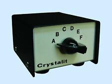 CB CRYSTALIT 6 POSITION SELECTOR HC/25U CRYSTALS