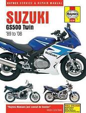 Suzuki GS500 Twins Service and Repair Manual by Haynes Publishing Group (Paperback, 2014)