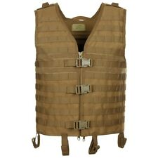 Mfh Jacket Vest Tactical Military Man System Modular Light Coyote