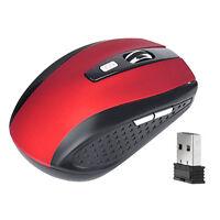 2.4 GHz Funk Maus 5 Tasten Optisch Wireless 2400 DPI Computer Mouse ..