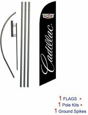 Auto Dealership Advertising Feather Banner Swooper Flag Sign With Flag Pole