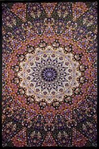 """3D GLOW IN THE DARK Tapestry """"India Star"""" 60 x 90  - FREE PRIORITY MAIL"""