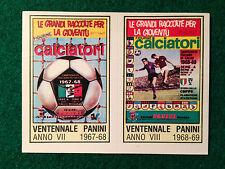CALCIATORI 1980-81 80-1981 n 4 ALBUM 1967-68 1968-69 , Figurina Panini NEW