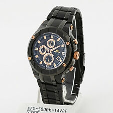 Casio Edifice Gold Label Chronograph Watch EFX-500BK-1A