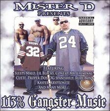 MISTER D - 113% GANGSTER MUSIC 1 NEW CD