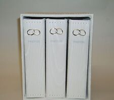 Wedding Day Photo Album 3 Pce Set/Engagement Gift-Rings