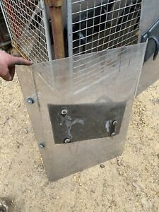 Ex NI RUC Police Riot Shield Public Order Airsoft Paintball Nerf Garden Games