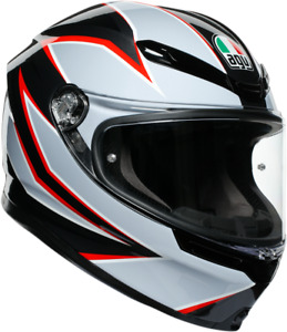 AGV K6 Flash Unisex Adult Motorcycle Riding Street Racing Fullface Helmet