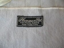 VTG Plummer Ltd NewYork City Silvercloth Sterling Anti-Tarnish Cloth Storage Bag