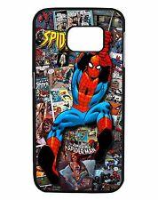 Spiderman Comic Phone Case Cover, Fits Samsung s4, s5, s6, s7, s8 s4 mini & More