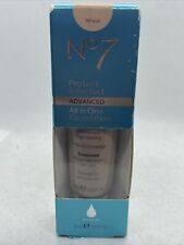 No7 Protect & Perfect ADVANCED All in One Foundation 1 fl oz (Wheat) Exp: 10/21