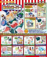 Japan Re-Ment Miniature Supermarket Rement Complete Set Of 8