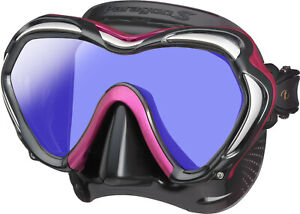 Tusa Paragon S Mask Scuba Diving, FreeDiving, Snorkeling Rose Pink M-1007SQB-RPA