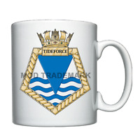 RFA Tideforce  -  Royal Fleet Auxiliary - Personalised Mug