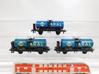 CG31-0,5# 3x Trix Express H0/DC 20/78 ? Blech-Kesselwagen Aral 508 294 DB