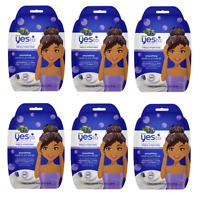 Yes To Super Blueberries Frizz Fighting Smoothing Hair Clay Mask (Pack of 6)