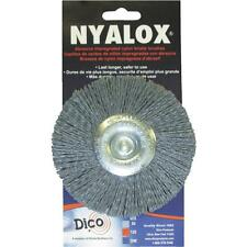 "Dico 4"" X-Coarse Wheel Brush"
