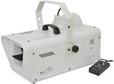 QTX SW2 Máquina De Nieve 1200w Alta Potencia Inc Discoteca DJ DMX Remoto ** ** disponible B