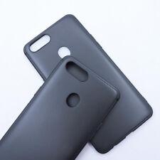 For Oppo R11s plus Black Matte TPU Gel Skin Case cover