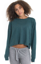 NWT Wildfox Couture 5AM Sweatshirt BASICS in Sapphire sz XS