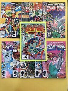 MARVEL SUPER HEROES SECRET WARS #1-12 ( No 8) SET W/ BLUE GALACTUS 1984 Series