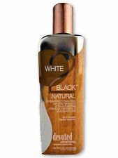 Devoted Creations White 2 Black Natural Streak Free Bronzer Tanning Bed Lotion