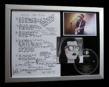 COURTEENERS+SIGNED+FRAMED+NINETEEN+ANNA+ST. JUDE=100% GENUINE+FAST GLOBAL SHIP!!