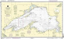 Noaa Nautical Paper Chart Lake Superior (Mercator Projection) 12th Edition 14961
