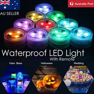Waterproof LED Lighting Marine Aqua Underwater Fish Tank RGB Light With Remote