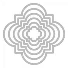 Sizzix Framelits Die Set 6PK w/Stamps - Playful