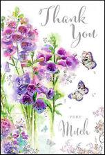 JONNY JAVELIN - 'THANK YOU VERY MUCH' - SECRET GARDEN THANK YOU CARD - SG71