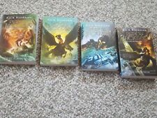 Percy Jackson and the Olympians, lot of 4, vol 2, 3, 4, 5, Very good condition