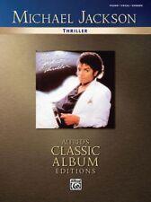 Michael Jackson - Thriller - Piano, Vocals, Chords - Music Book