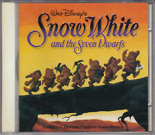 CD SNOW WHITE AND THE SEVEN DWARFS 26 TITRES B.O. FILM NEUF SCELLE WALT DISNEY'S