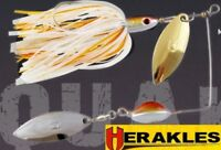 Pike Fishing Spinnerbait Lure Predator Bait Herakles QUAKE 17,5g  colours Tackle