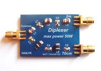 Diplexer 2m 70cm 50W for HAM transceiver