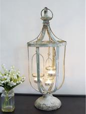 X Large Lantern Tea Light Candle Holder French Vintage Style Shabby Chic 53 cm