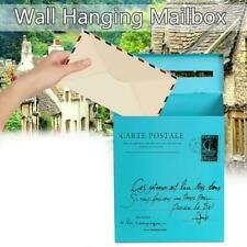 Vintage Retro Wall Mount Mailbox Mail Postal Newspaper Waterproof Box New S8X6