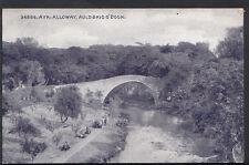 Scotland Postcard - Ayr - Alloway - Auld Brig O'Doon   RS3866