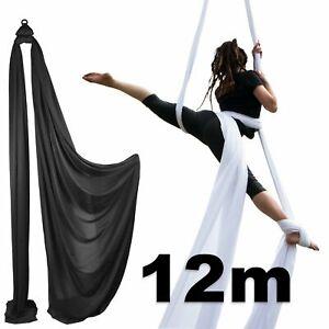 Firetoys Aerial Silk (Aerial Fabric / Tissus) - Black-12 metres