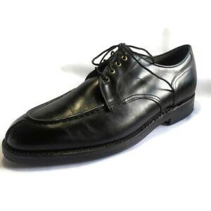 Footjoy Classics Oxfords Mens SZ 10 Black Leather Dry Premiere Lace Up Shoes USA