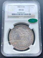 1882 S Morgan Dollar NGC MS66 CAC Gem