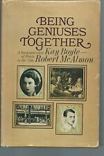 NK-022 - Kay Boyle Robert McAlmon Being Geniuses Together 1st ed HB w xtra photo