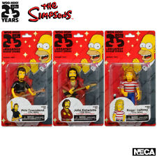 NECA The Simpsons Series 2, The WHO Full Set Figures, 3 pc.